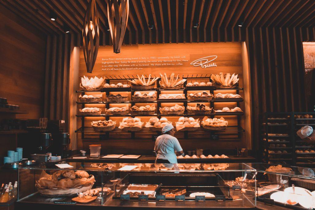 Une boulangerie, un commerce de proximité